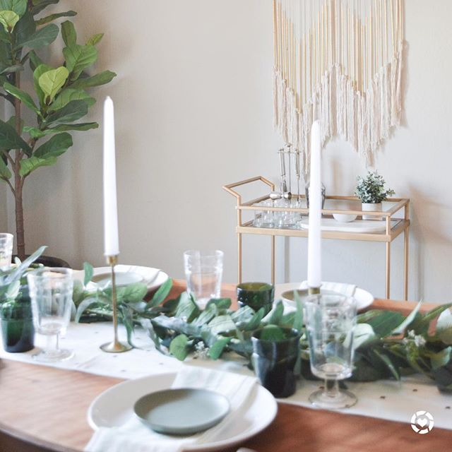 So excited to share this Spring tablescape on the blog today (link in profile)! 🌿Pretty much everything seen here is from one of our favorite brands, @hearthandhandmagnolia 🙌🏻Check out the post for more details, photos, and shop the look! @liketoknow.it.home #ltkhome