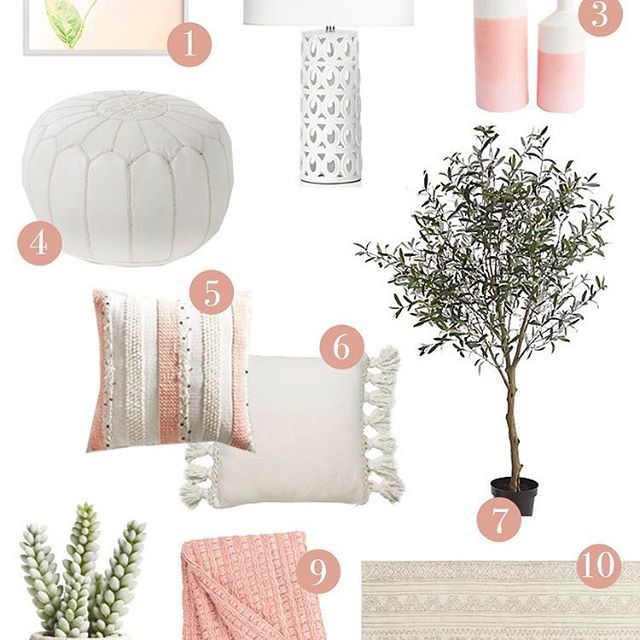 Head to the blog today for a brand NEW post highlighting our favorite Spring decor! 💗🌿 #awestnest #springtime