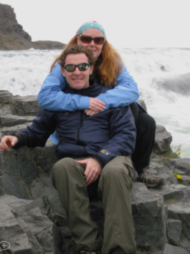Andrew & Jennifer Buerger on Mt. Adams