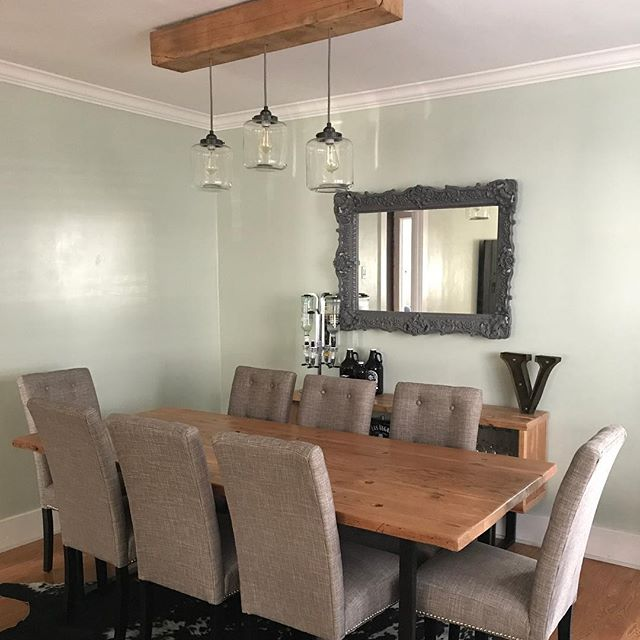 Reclaimed Wood Dining Table #echopark #madeinusa #silverlake  #interiordesign #losangeles #diningtable