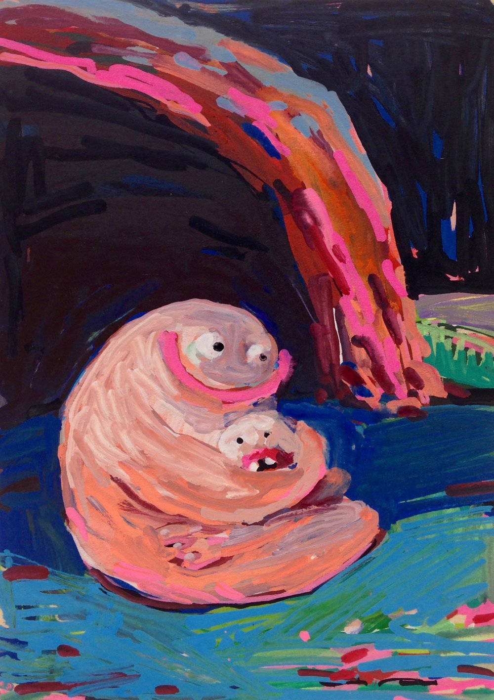 Caveside Hug