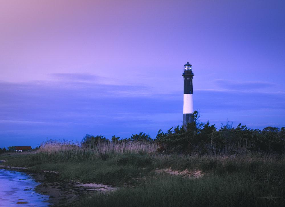 fire island lighthouse blue hour.jpg