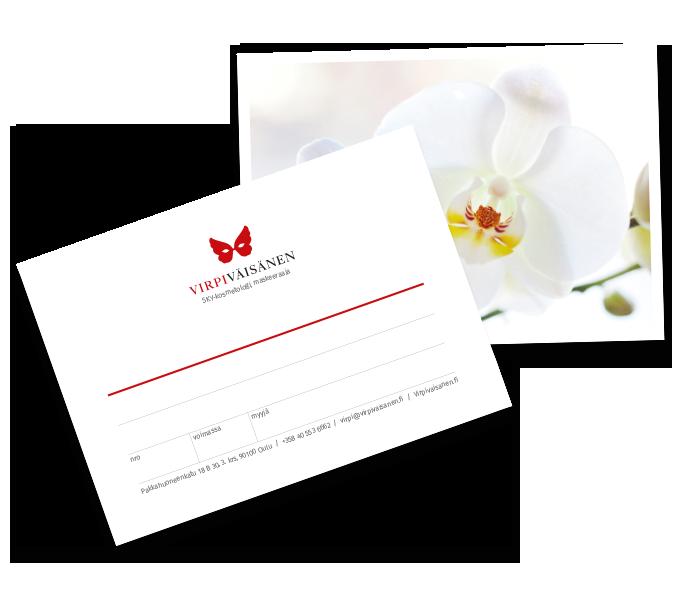 Anna lahja, joka tekee hyvää. - Lahjakortin voi osoittaa tiettyyn hoitoon / palveluun tai korttiin voidaan merkitä myös arvo, jolloin lahjan saaja saa valita ihan itse hemmottelunsa :)