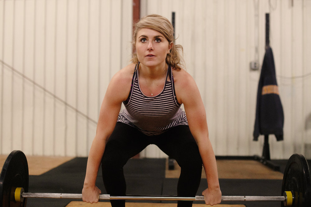 women in crossfit - athlete - girlboss