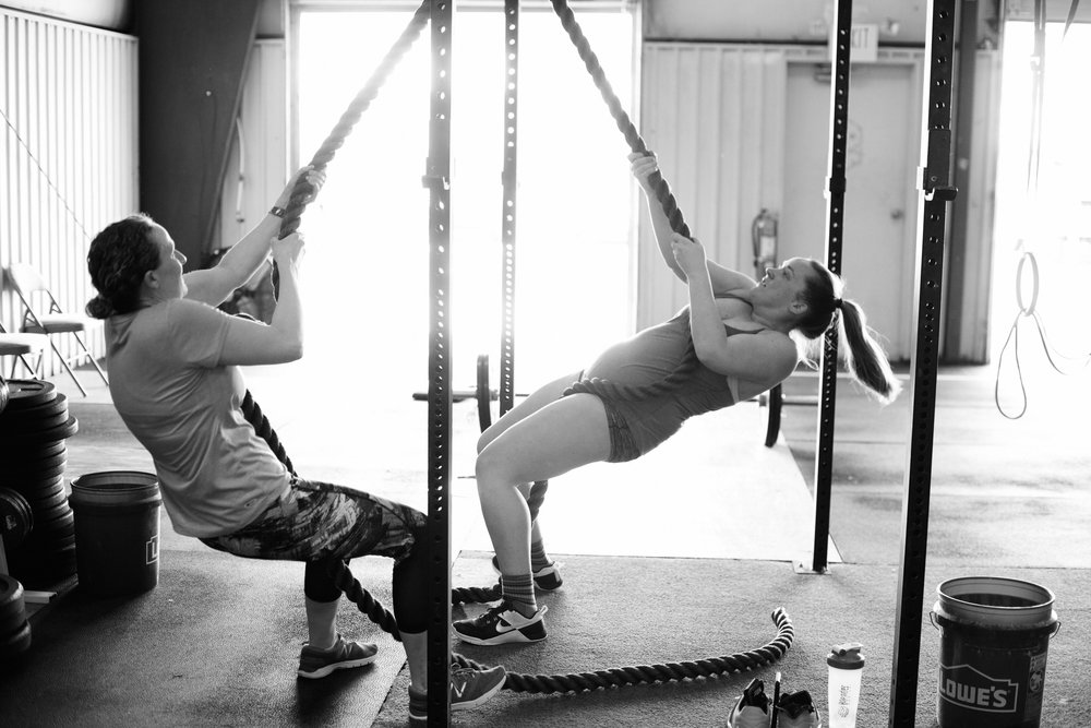 rope climbs - beer city crossfit - asheville - avl xfit
