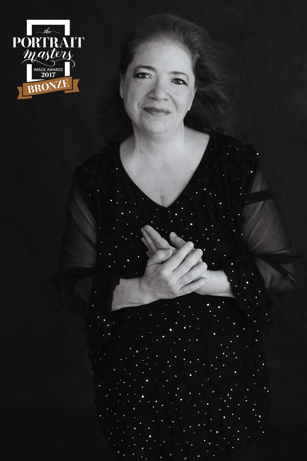 """I am flabbergasted that a photo you did of me captured an award. I am honored! Congratulations!"" - Rose Marie Viera"