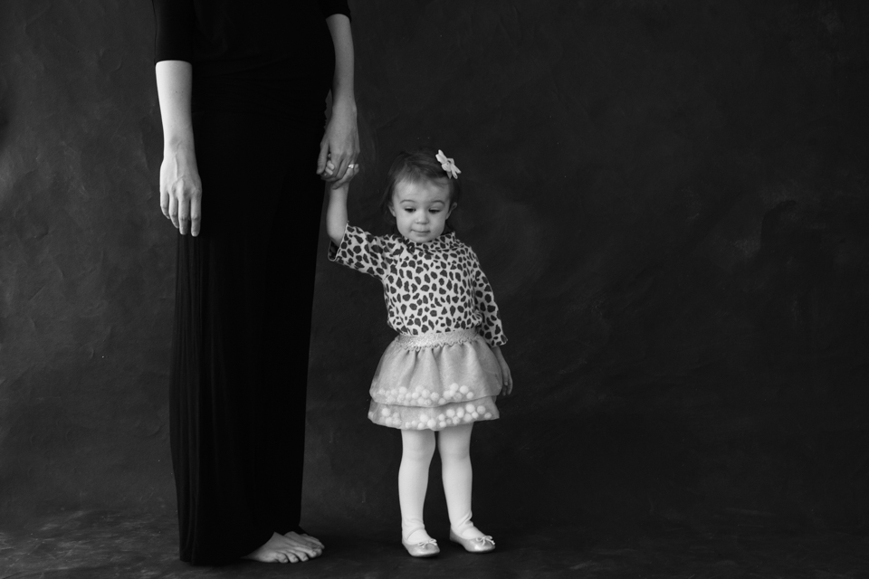 family portraits - mother and daughter