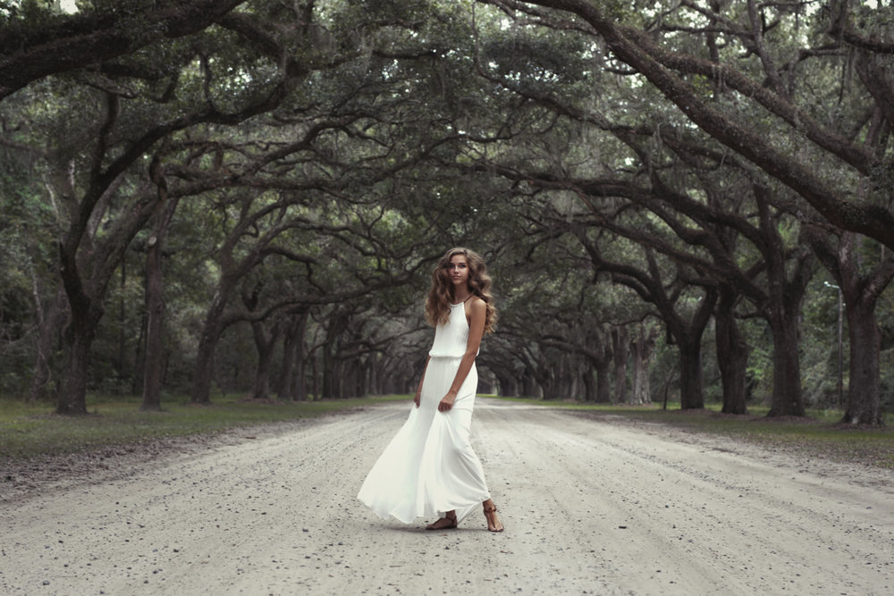 wormsloe - isle of hope - beautiful places - teen - senior pictures