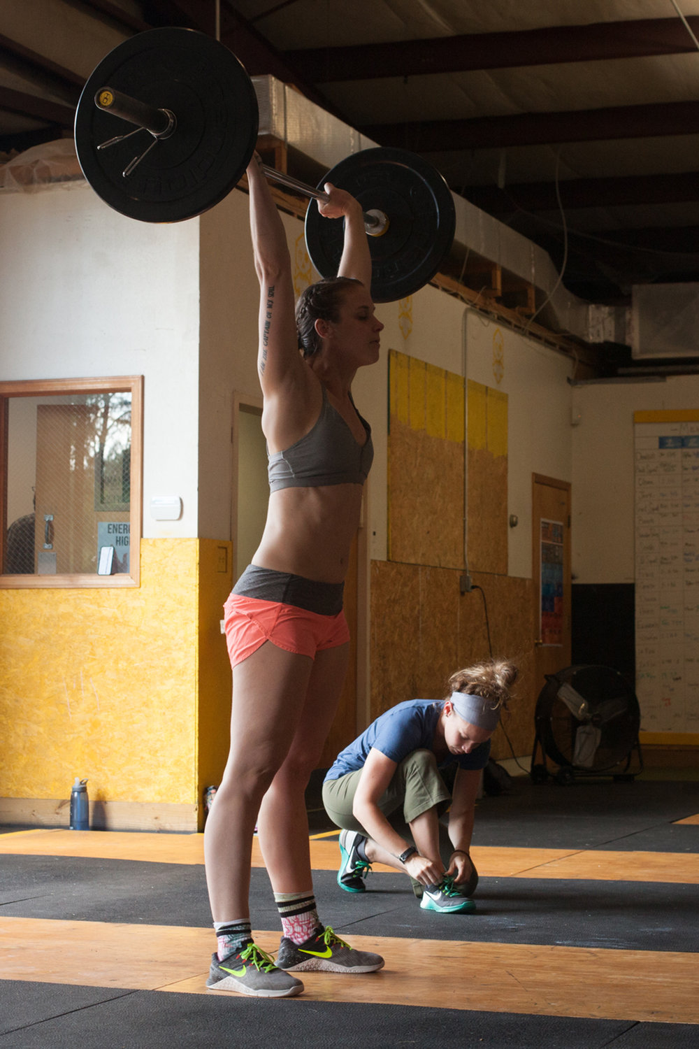 crossfit - Asheville athletes - everyday people doing extraordinary things
