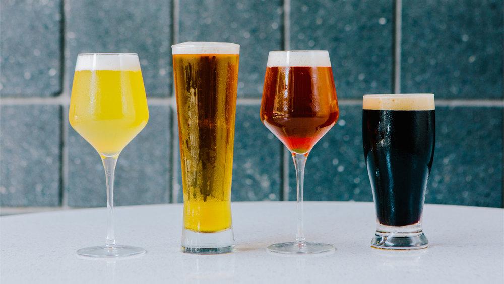 Circa Beer Lineup, Photo Credit Alex Welsh