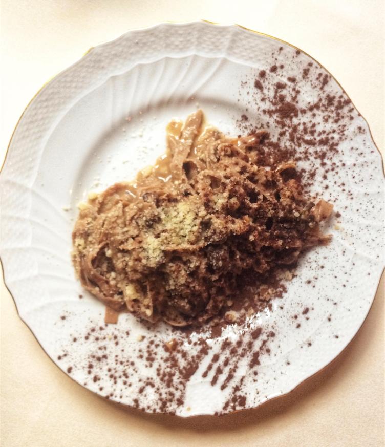 Chestnut Fettuccine from Vetri Cucina