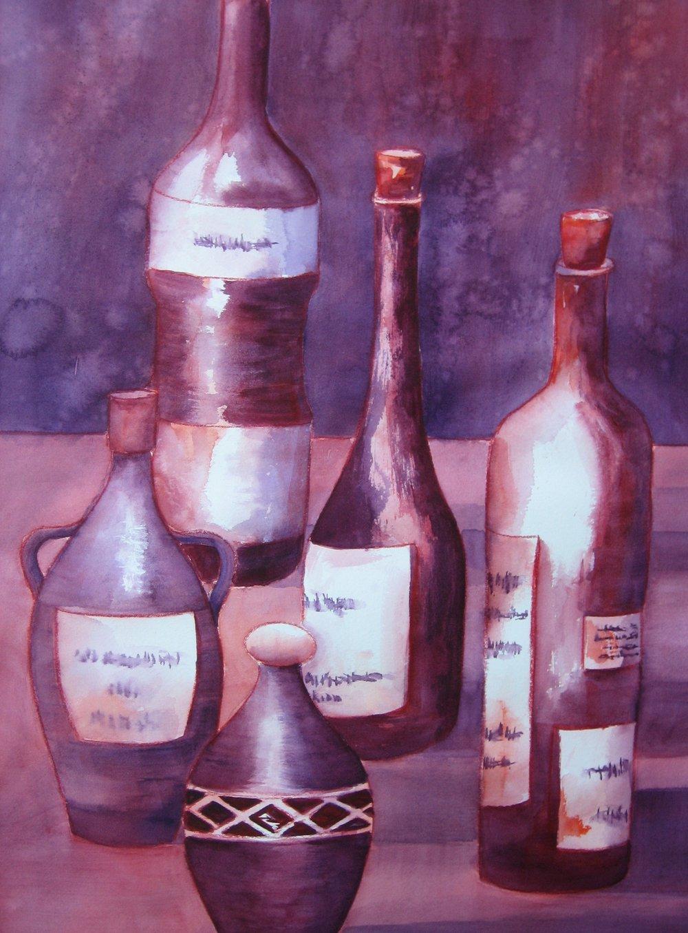 #256 Burgundy Bottles.JPG