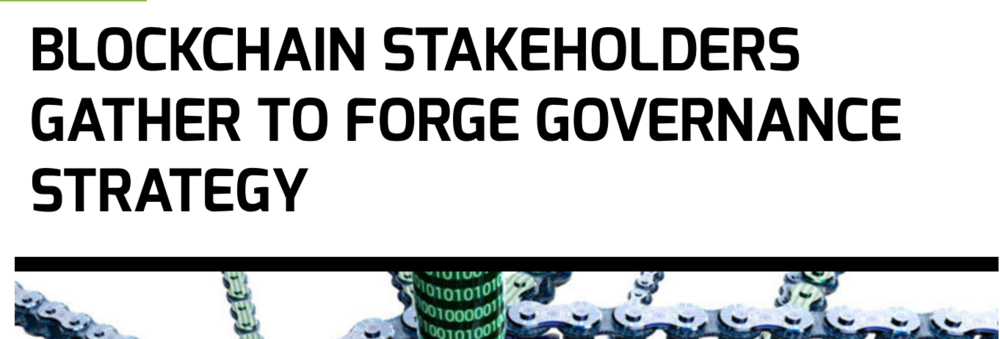 Associations Now: Blockchain Stakeholders Gather to Forge Governance Strategy