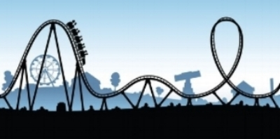 Ever feel you are on a roller coaster about to turn over and loose major stuff?