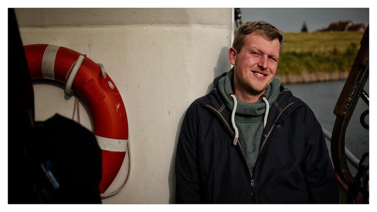 """Crab fisherman Nils in Hooksiel: """"An office job is out of the question for me!"""""""