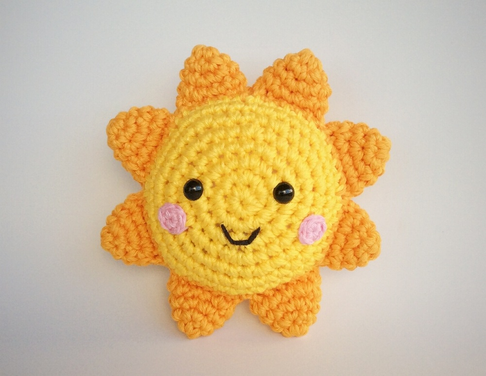 Pattern Sun Amigurumi - by Yarn handmade