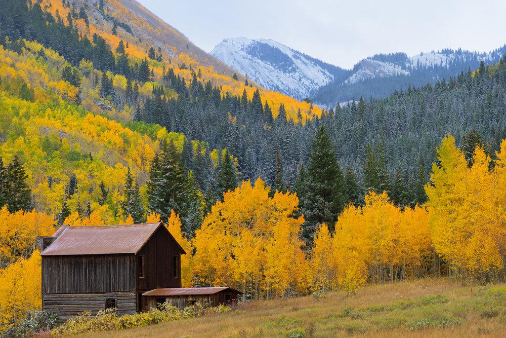 Ashcroft Colorado Fall