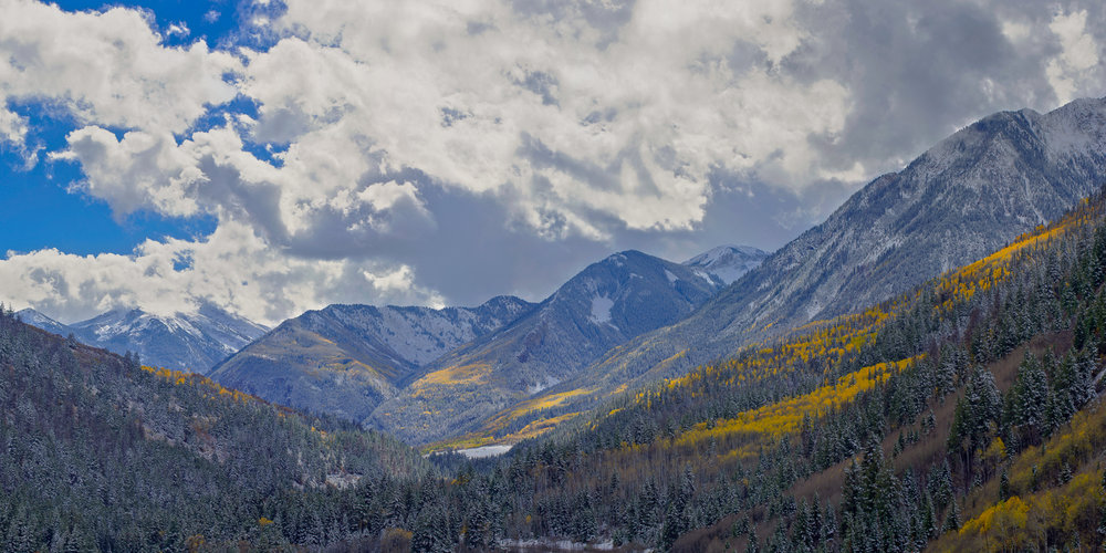 Looking Toward Marble from McClure Pass