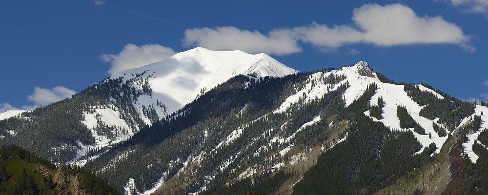 Shot this image just about 10 days ago in mid May. Lots of snow up high still for spring skiing and ski climbing adventures. I will be skiing Aspen Mountain on Memorial Day!