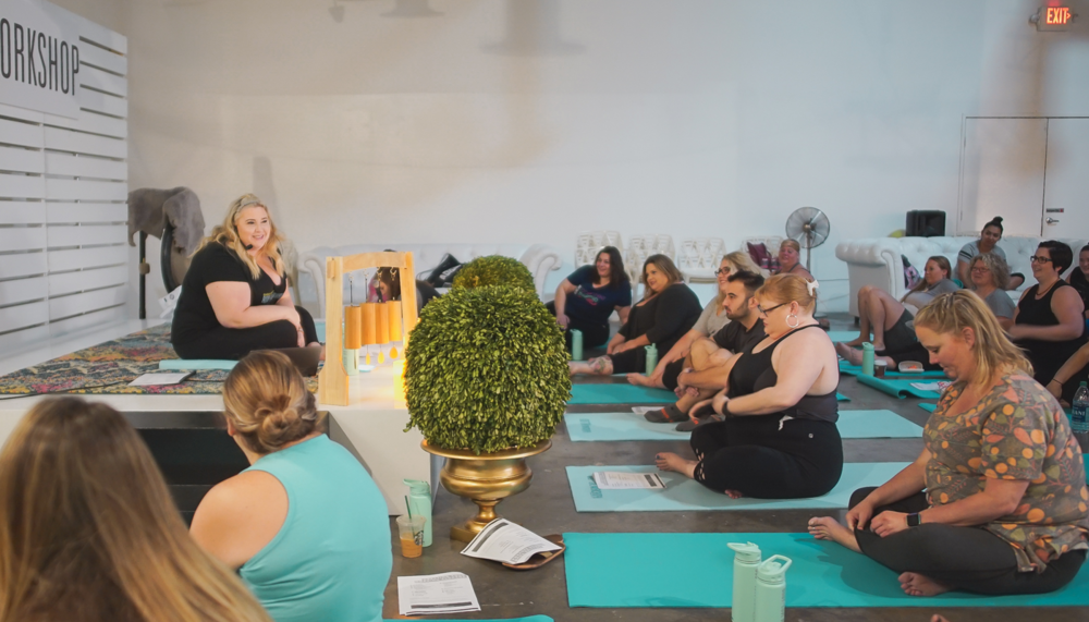 Photo by matthew nadu: sarah sapora's body + love workshop 2018