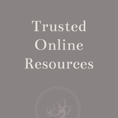 Trusted Online Resources