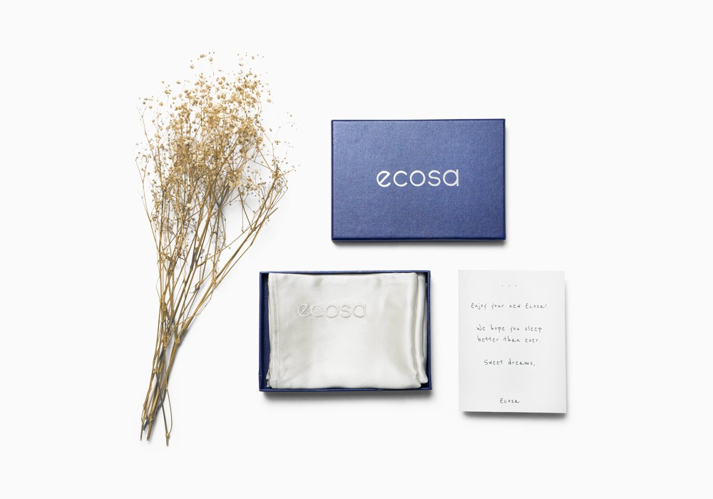 Ecosa silk pillow case