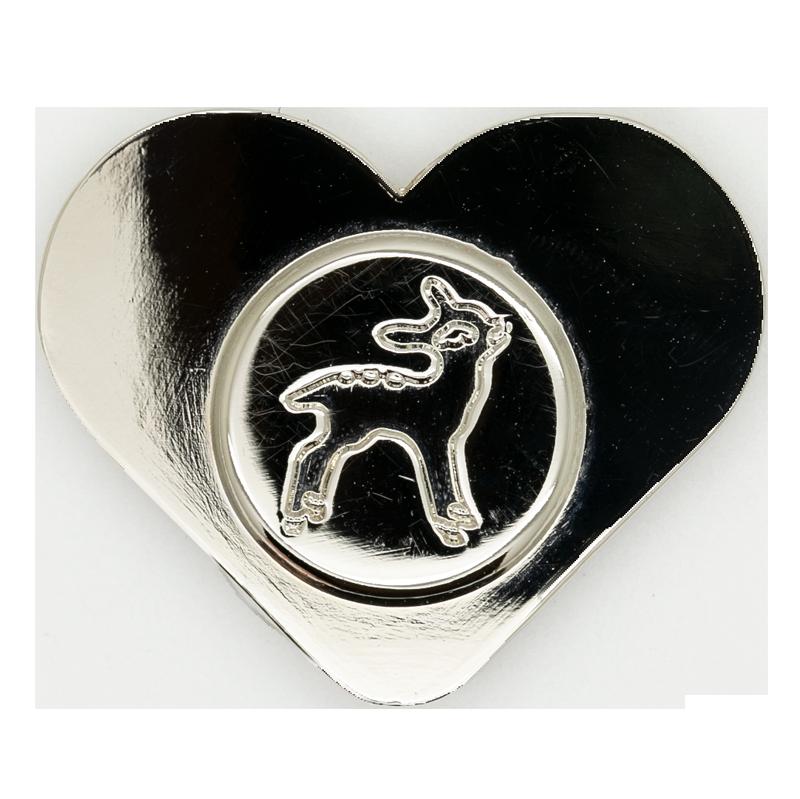 Fawn Logo Magnet - Nickel