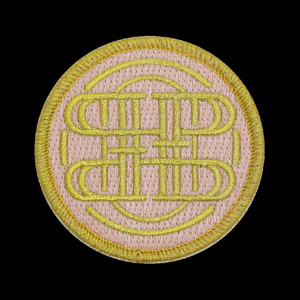 100% Embroidery, Metallic Thread