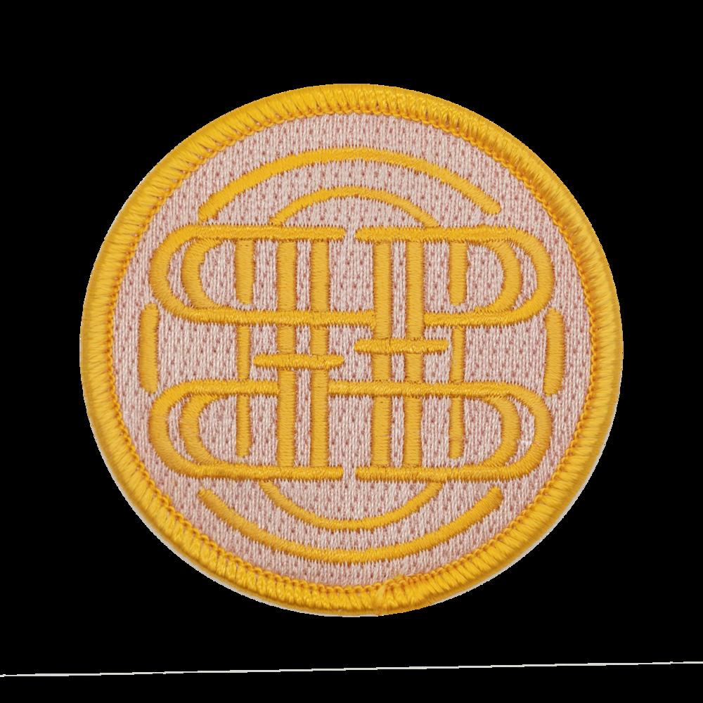 100% Embroidery, Overlock Border