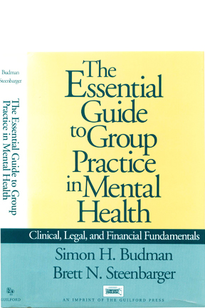 Clinical Associates was written up as a model practice by Drs. Budman and Steenbarger in their 1997 Guilford Press book.  (Click image of book cover to read excerpt.)