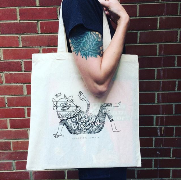 Spring 2016 artist designed tote bag by Borys Tarasenko.