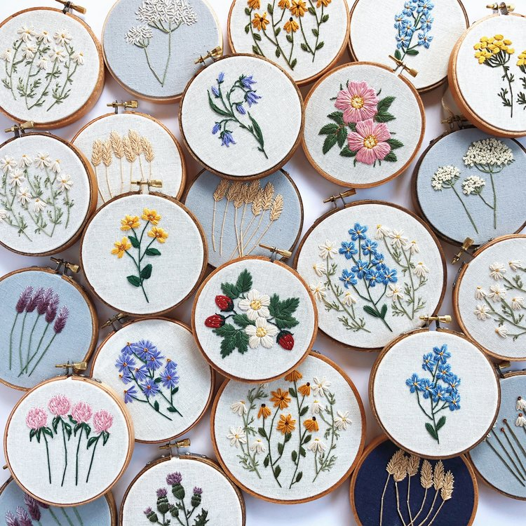 Florals and Floss -