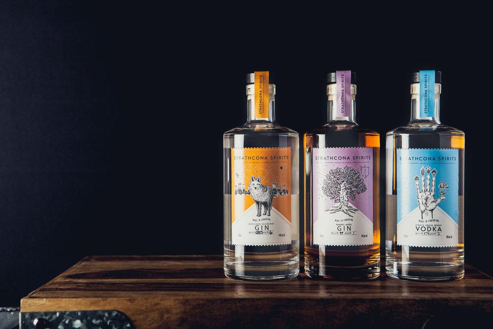 Strathcona Spirits -