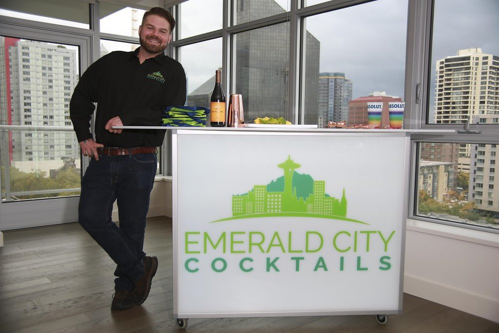 Our Portable Bar Looks Great Anywhere!