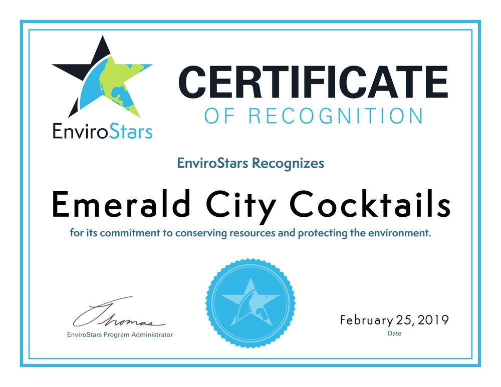 Emerald City Cocktails EnviroStars Certificate-1.jpg