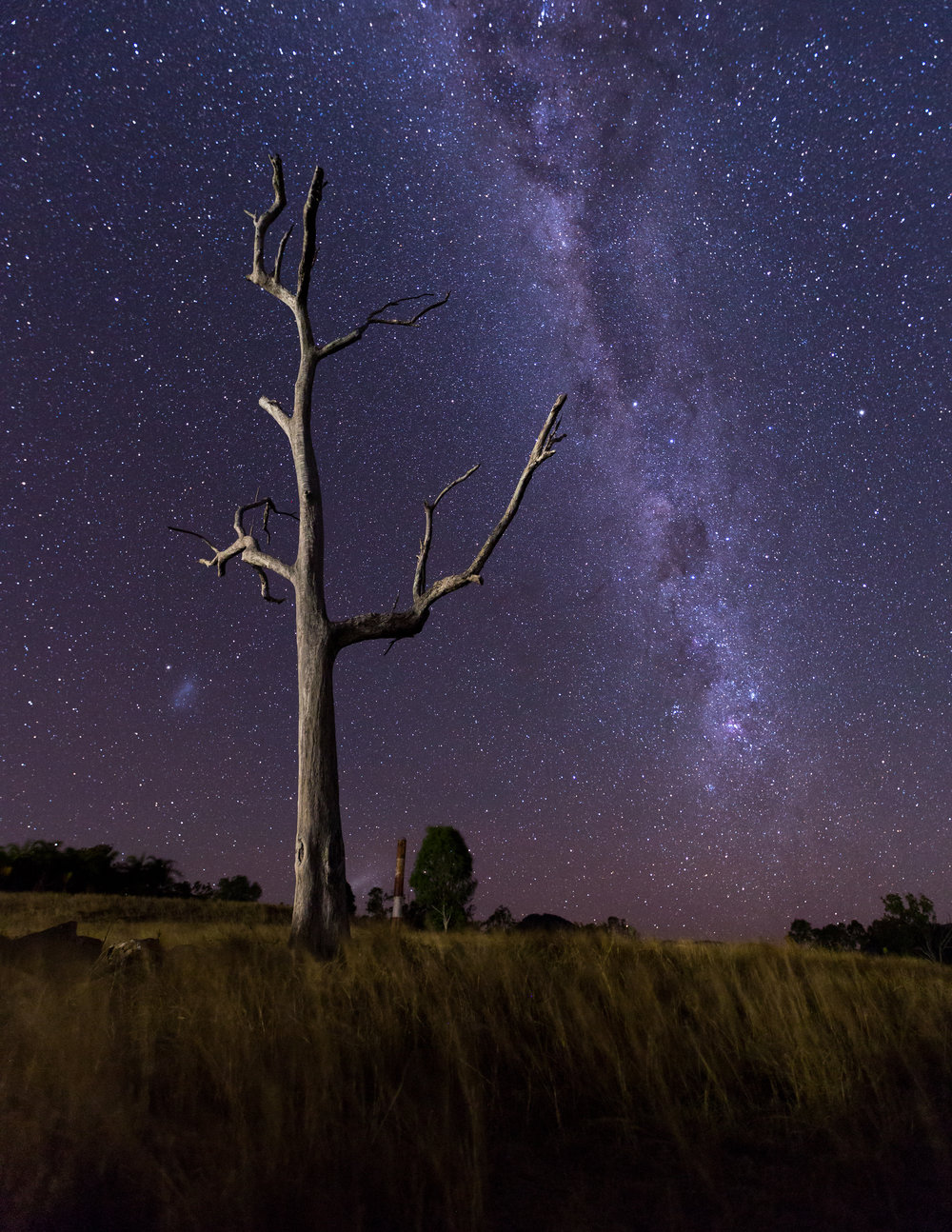 Lake Moogerah - Camping trip and first time photographing the milky way.