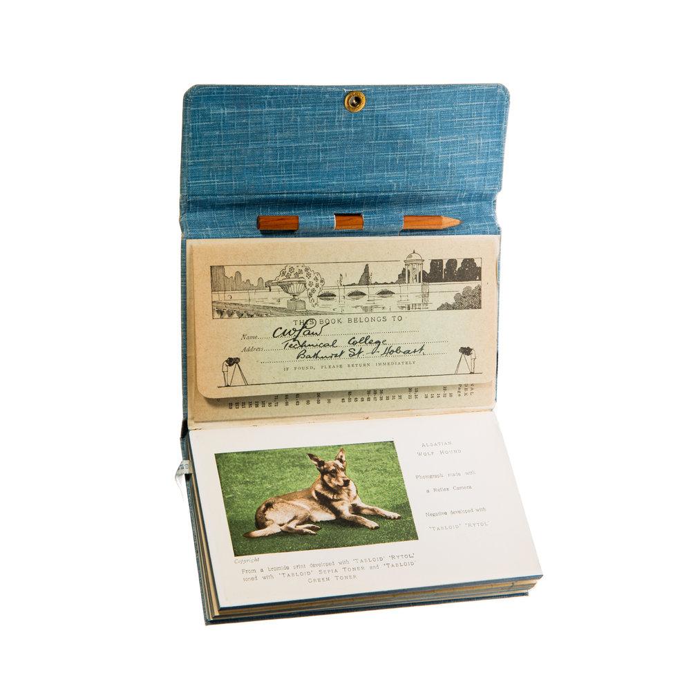 Kodak Exposure Calculator, Handbook and diary (1928)
