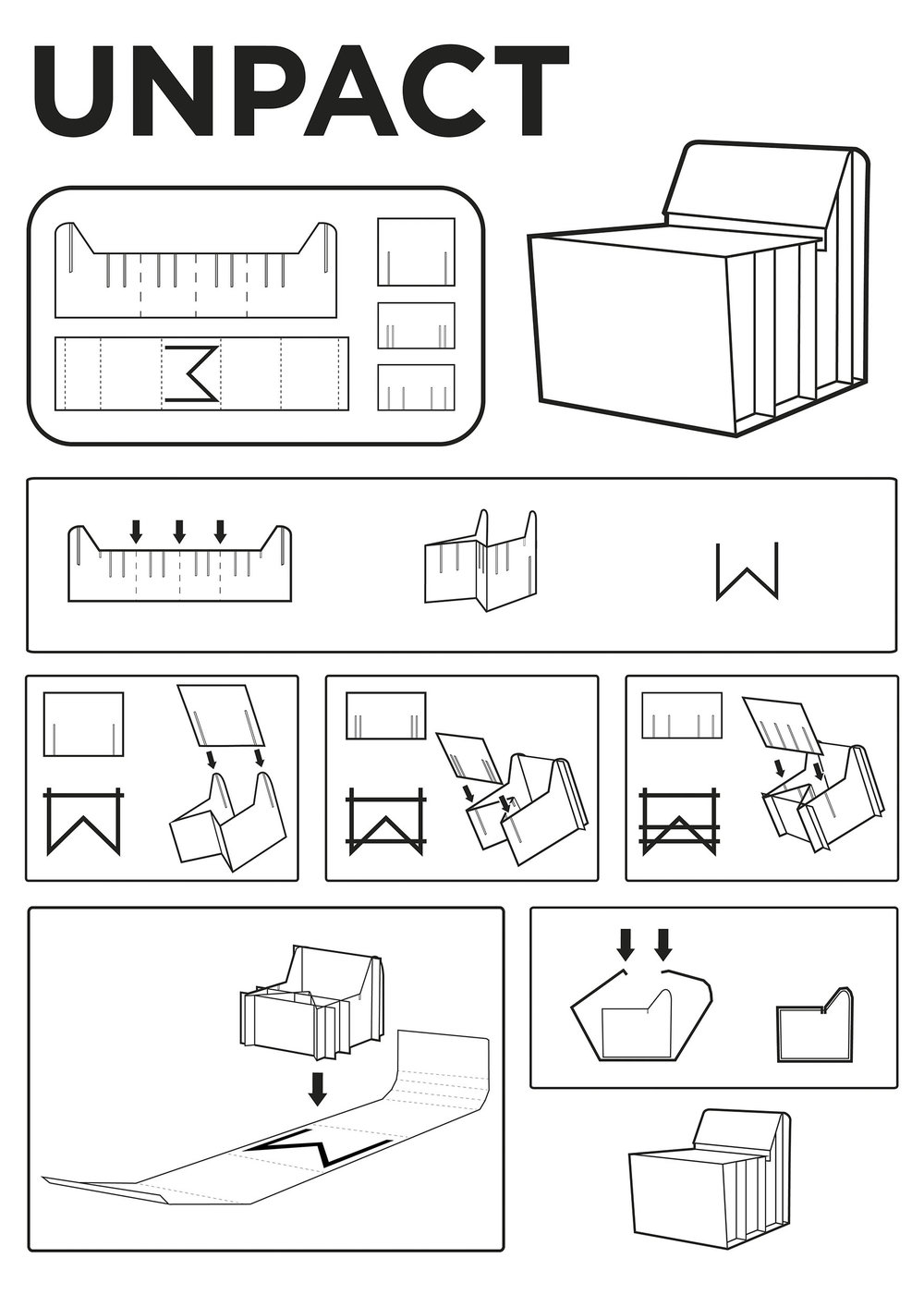 Cardboard Chair Instructions We Creativity U0026 Design Cognition