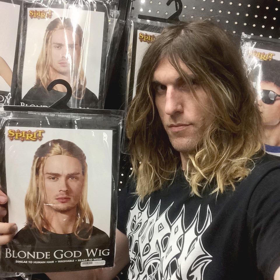Halloween 2016: No costume needed with my death metal BRUTAL BALAYAGE hair! lol