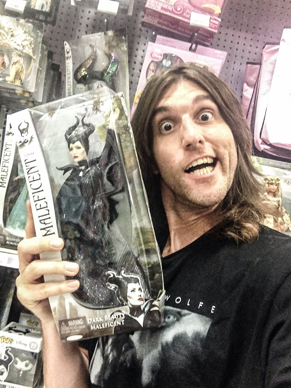 So sorry Southern California, but I've already bought out ALL of So Cal's supply of Disney's Angelina Jolie Maleficent merchandise figures….movie comes out May 30!! haha :) #maleficentsuperfan