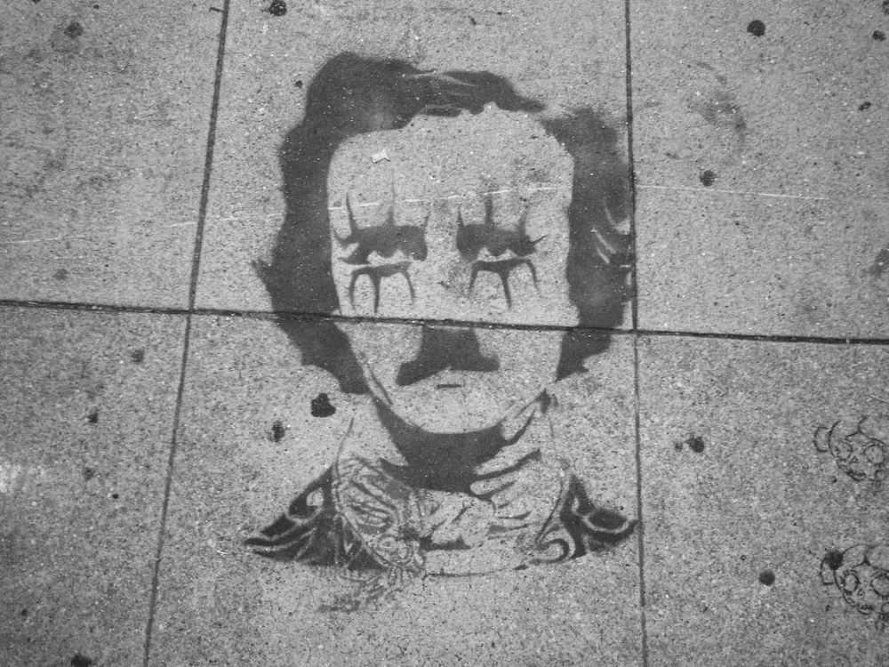 """"""" DARKNESS  there and nothing more."""" -  Edgar Allan Poe"""