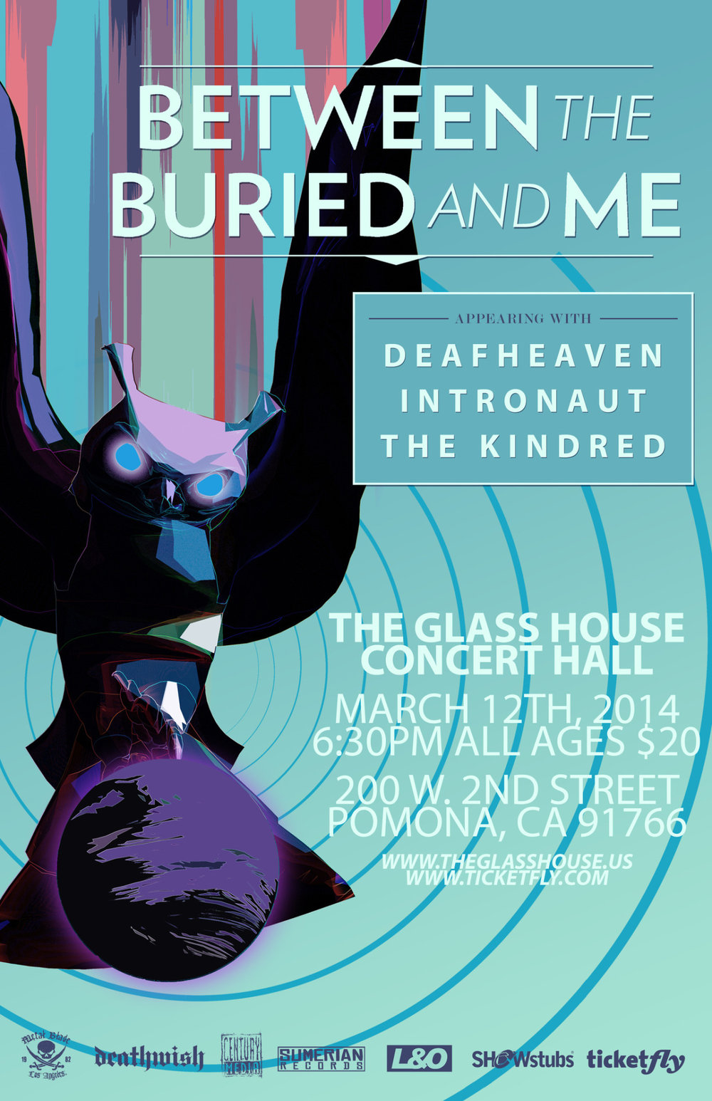Reserved tickets as soon as they went on sale at noon today for the  DEAFHEAVEN  show in March 2014 at the Glasshouse! Stoked!
