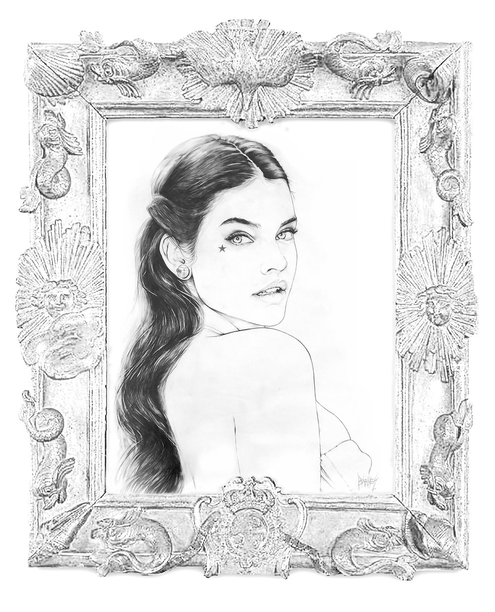 BBKUNST-Art-Artist-Bryan-Barnes-Pencil-Art-Drawing_Barbara_Palvin_Barbara-1_Frame.jpg