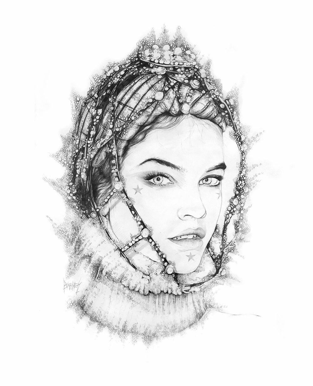 BBKUNST-Art-Artist-Bryan-Barnes-Pencil-Art-Drawing_Barbara_Palvin_Hungarian_Princess_Under_An_Aquarius_Moon.jpg