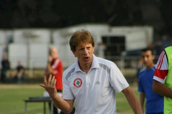 Lebanon's then-national team coach Theo Bucker.