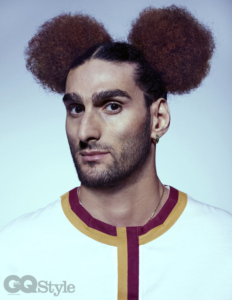 Football's toxic masculinity    The Belgian's hairstyles are a statement.