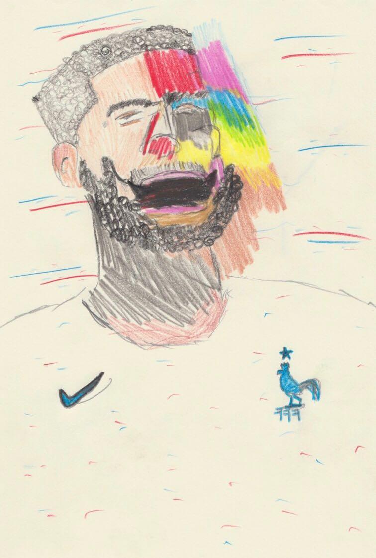 original artwork by Justin Olivier Salhani