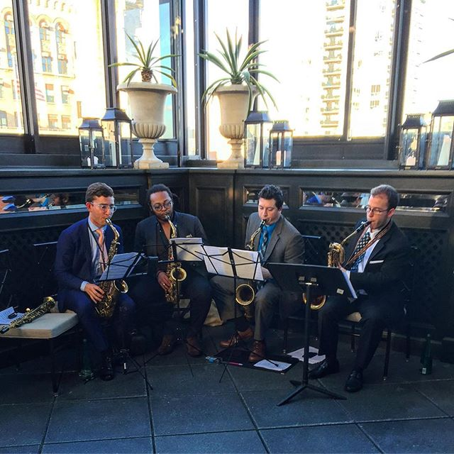 We also provide #jazz musicians from The Juilliard School! 🎷 Beautiful evening for a corporate party at the @gramercyparkhotel . . #GramercyParkHotel #GramercyPark #corporate #corporateparty #party #cocktail #cocktailhour #corporatefashion #corporatestyle #fashion #design #luxury #luxurytravel #music #musicians #jazzmusic #eventplanner #eventplannerNYC #NYCphotograher #NewYork #NewYorkCity #NY #NYC