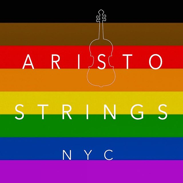 #pride in our artists, our performances, and our clients!#AristoStringsNYC is #lgbt co-owned entertainment company 🎻🌈 . . #pridemonth #pridenyc #music #gaywedding #musician #nycphotographer #nycevents #nyceventplanner #eventplannernyc #weddingplanner #weddingplannernyc #gayweddingplanner #lgbtq #stringquartet #classicalmusic #entertainment #trio #jazz #gaypride #destinationwedding #newyork #newyorkcity #ny #nyc #pride2017