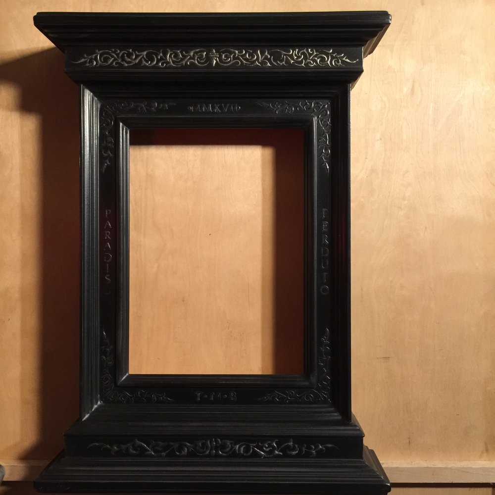 Tabernacle Frame - tabernacle frame. noun. 1. a frame, especially of the 18th century, around a doorway, niche, etc., that suggests a small building, characteristically one with a pediment and two pilasters on a base.We LOVE making